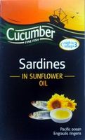Sardines in sunflower oil - Product