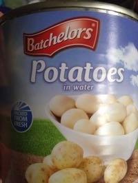 Potatoes in water - Product - en