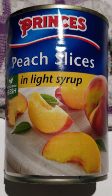 Peach Slices in light syrup - Product