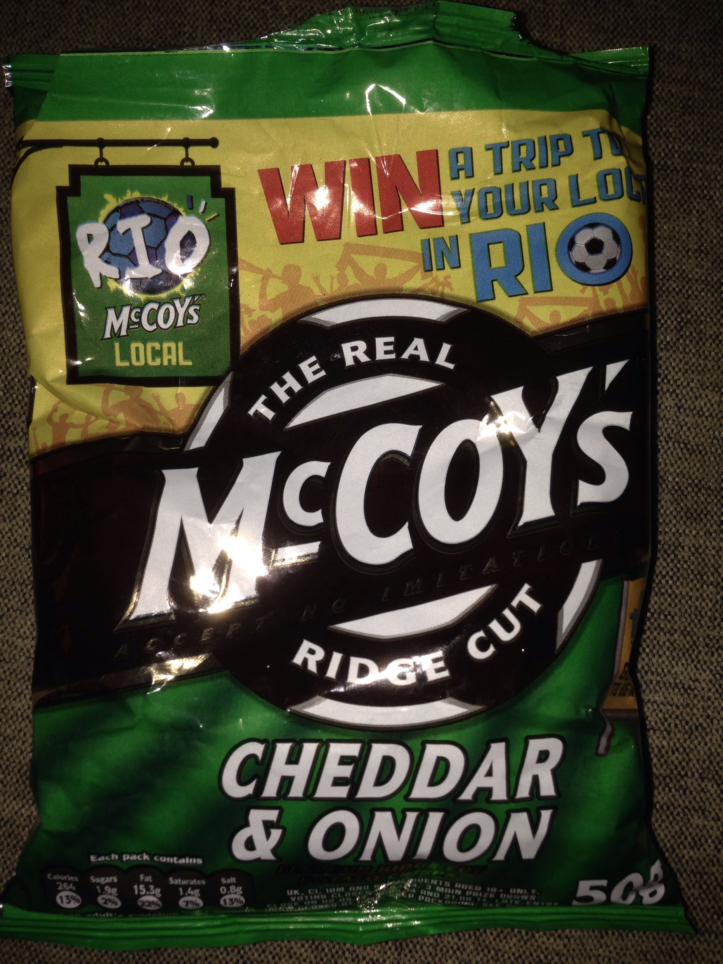 Mc Coy's Cheddar and onion - Product - en