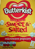 Sweet & Salted microwave popcorn - Product