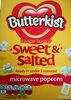 Sweet & Salted microwave popcorn - Produit