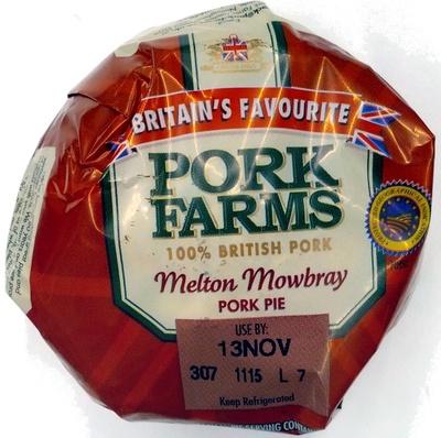 Melton Mowbray Pork Pie - Product