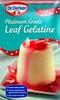 Platinum Grade Leaf Gelatine - Product