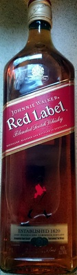 Johnnie Walker Red Label Blended Scotch Whiskey - Product