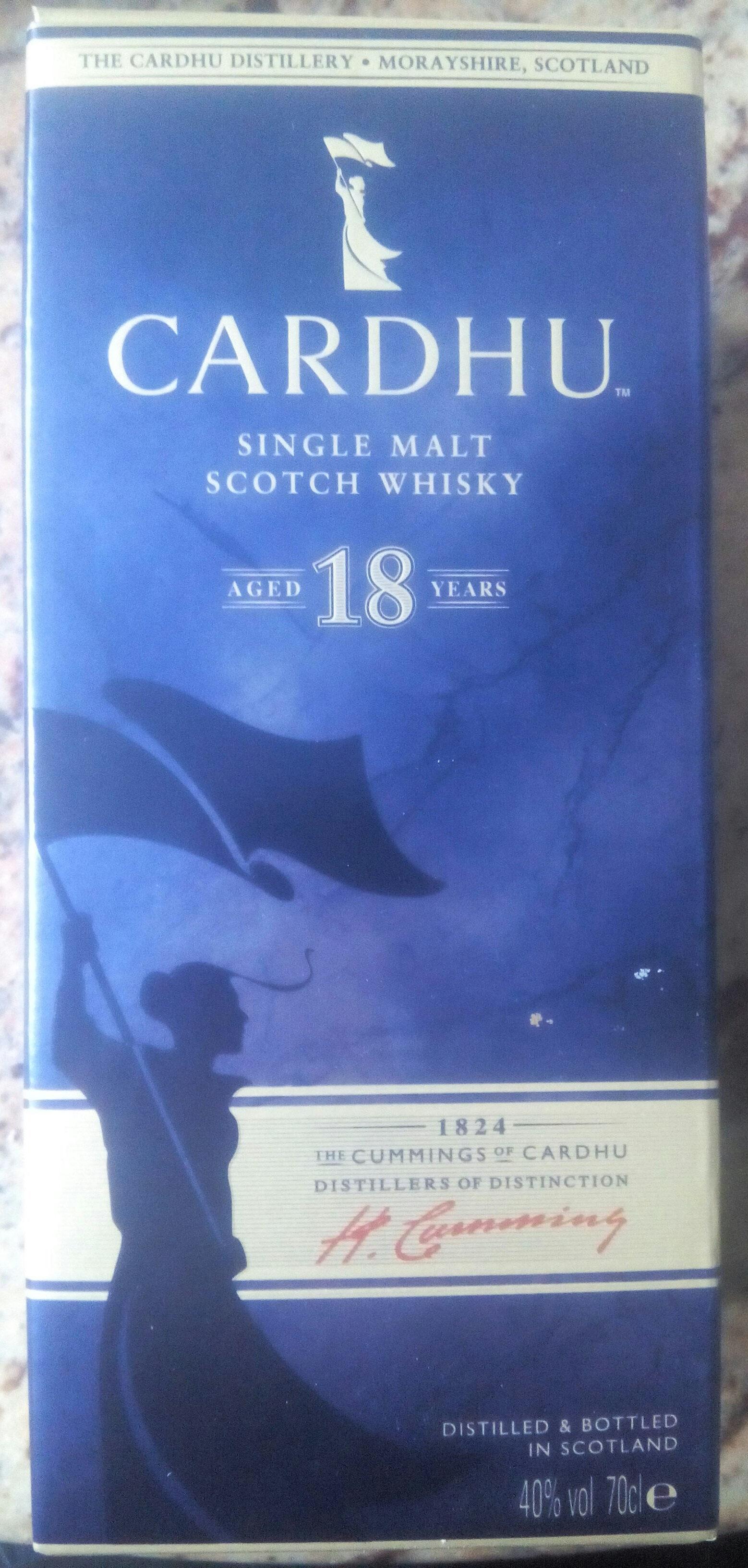 Single malt scotch whisky - Produit - fr