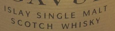 Lagavulin Single Malt Islay Scotch Whisky - Ingredients