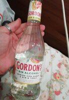 Gordon's sin alcohol - Producte - es