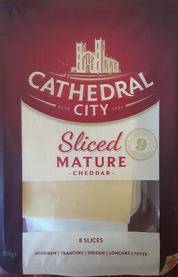 Sliced mature cheddar - Product - fr