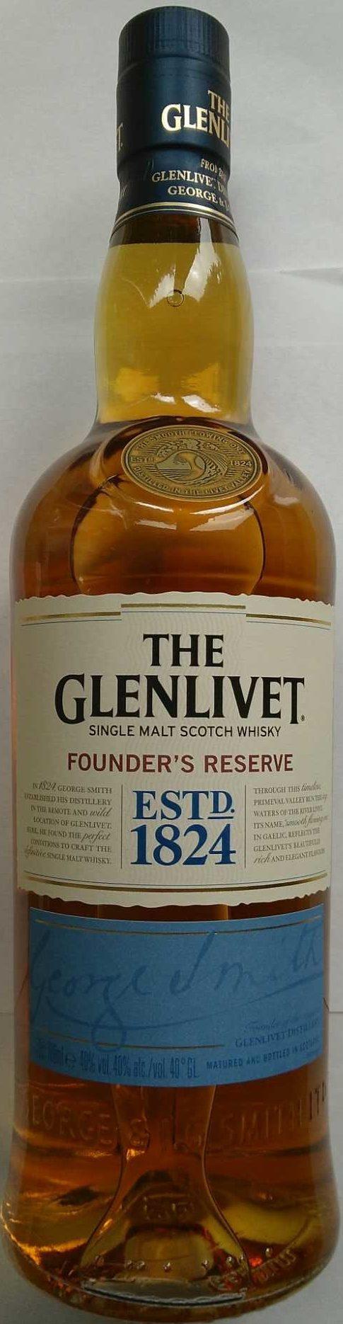 Founder's Reserve - Produkt