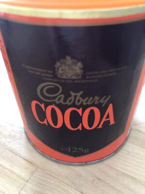 Cadbury Cocoa Powder - Produit - fr