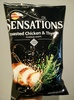 Sensations Roasted chicken & thyme flavour crisps - Product