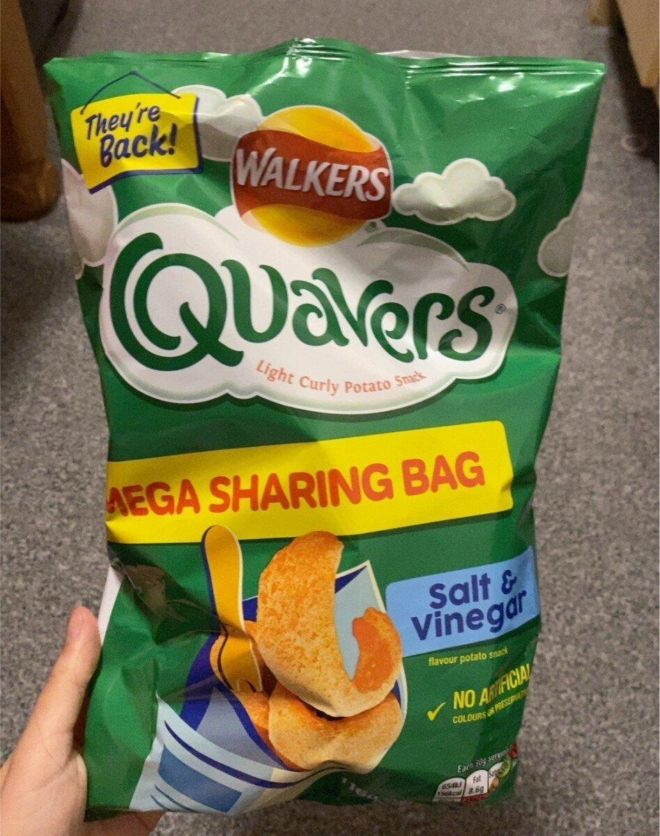 Quavers salt & vinegar - Product - en