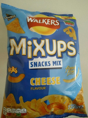 Mixups Snacks mix Cheese Flavour - Product - en