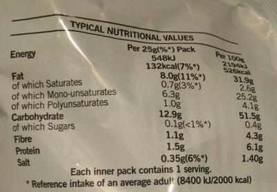 Ready Salted - Voedingswaarden - en
