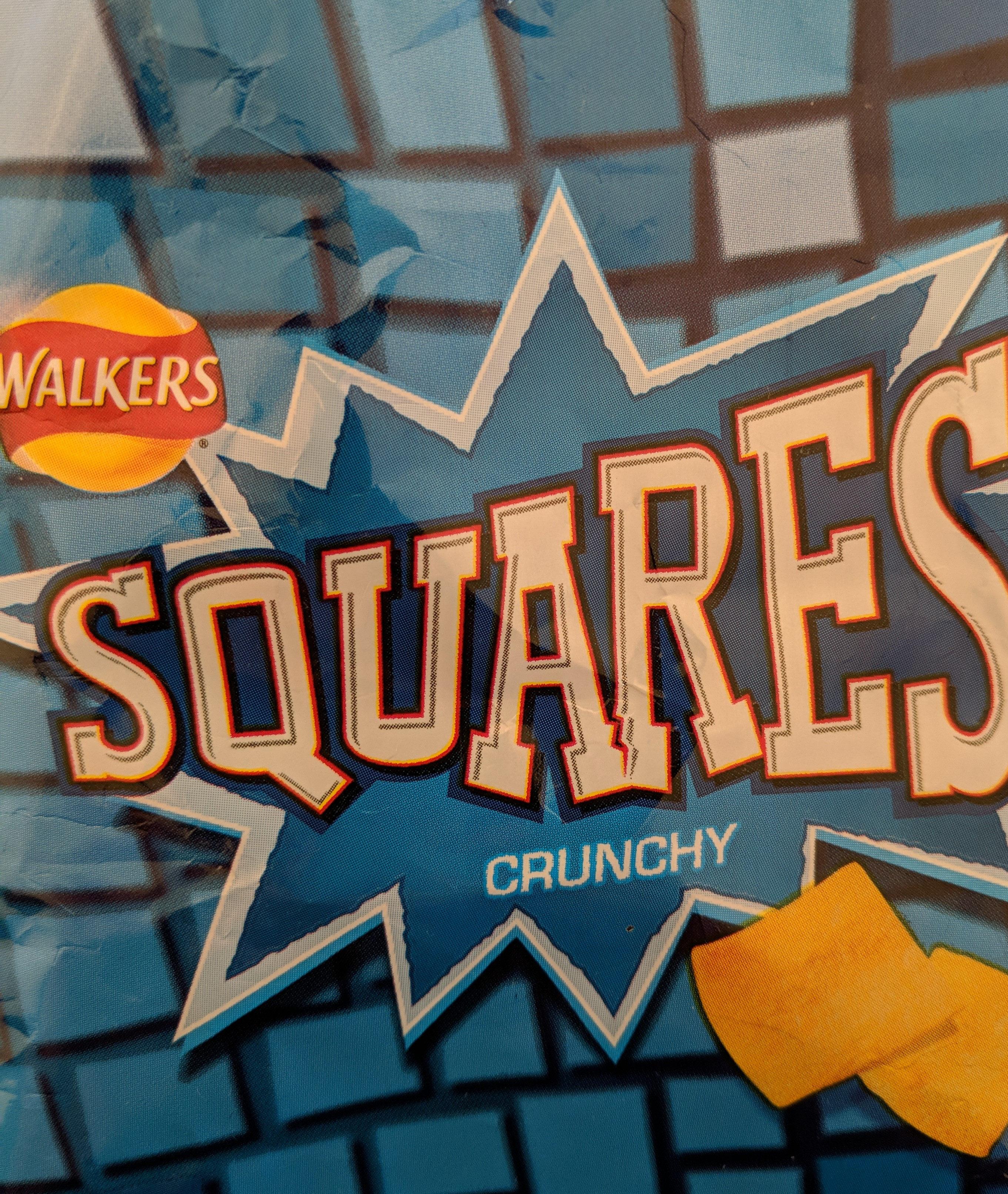 Walkers Squares Salt & Vinegar Snacks 27.5G - Product - en