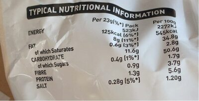 Crinkles Simply Salted Crisps 6 x - Nutrition facts - en