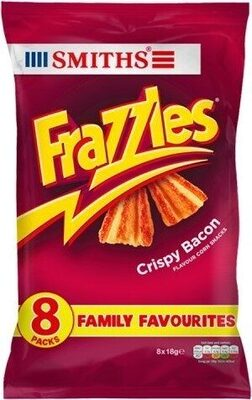 Smiths Frazzles Crispy Bacon Snacks 8 x - Prodotto - en
