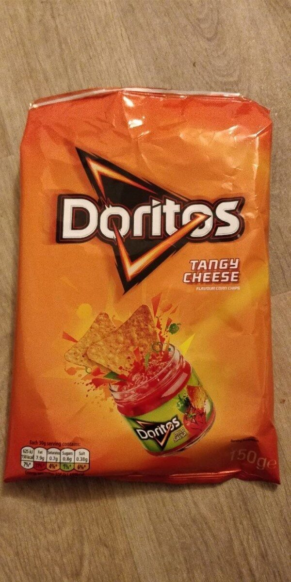 Tangy Cheese Tortilla Chips - Informations nutritionnelles - fr