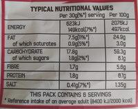 Chilli Heatwave Tortilla Chips - Nutrition facts - en