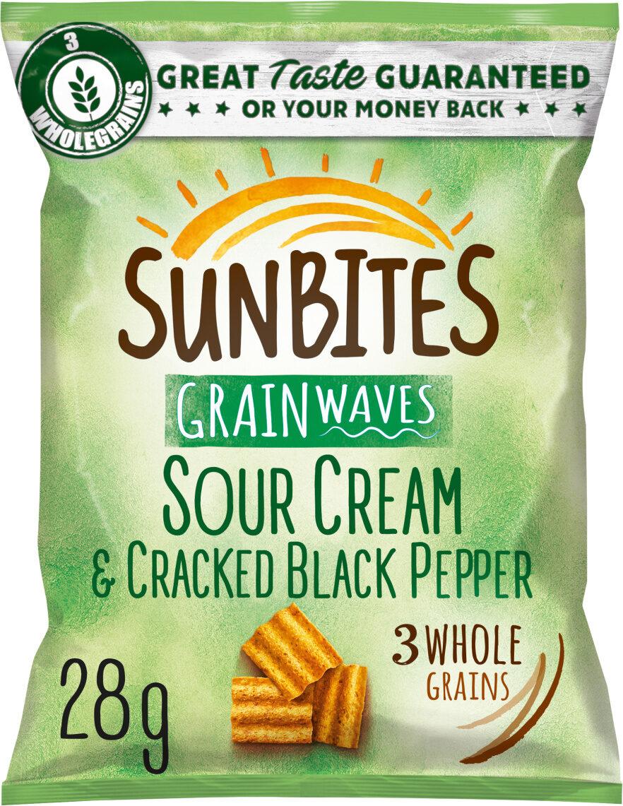 Sour Cream & Pepper Multigrain Snacks - Product - fr