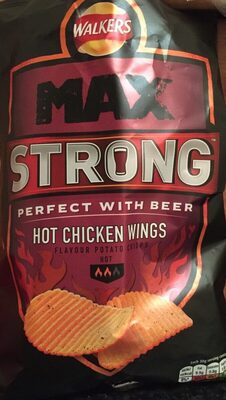 Max Strong Hot Chicken Wings - Product