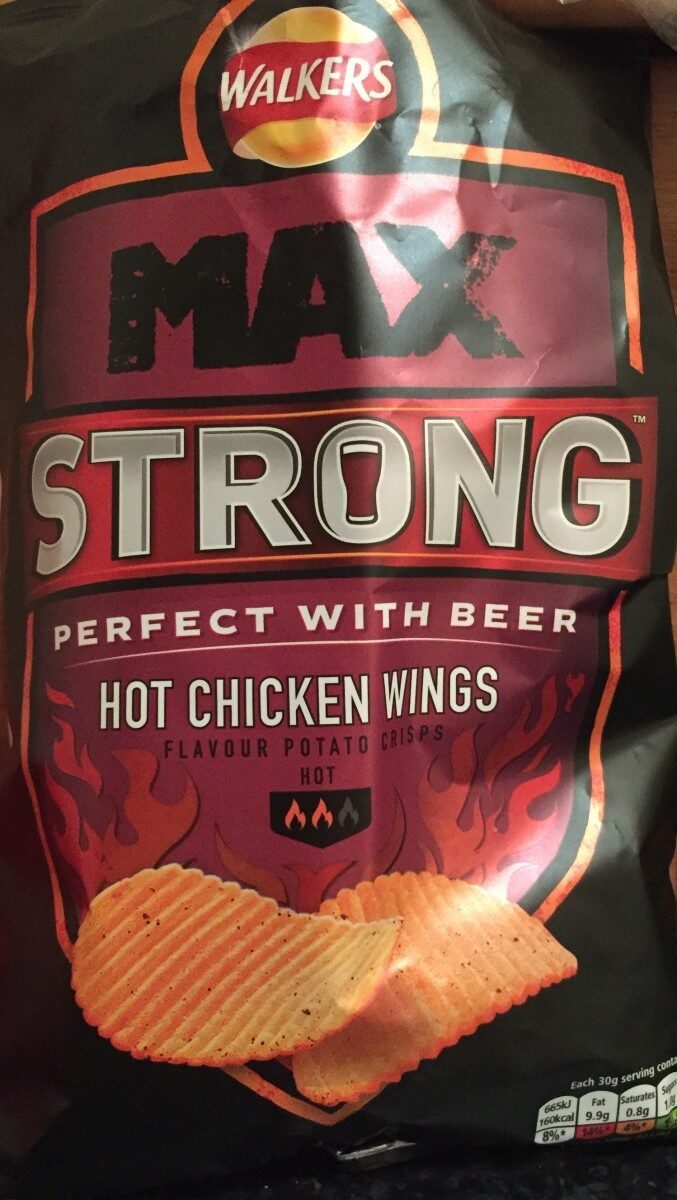 Max Strong Hot Chicken Wings - Product - en