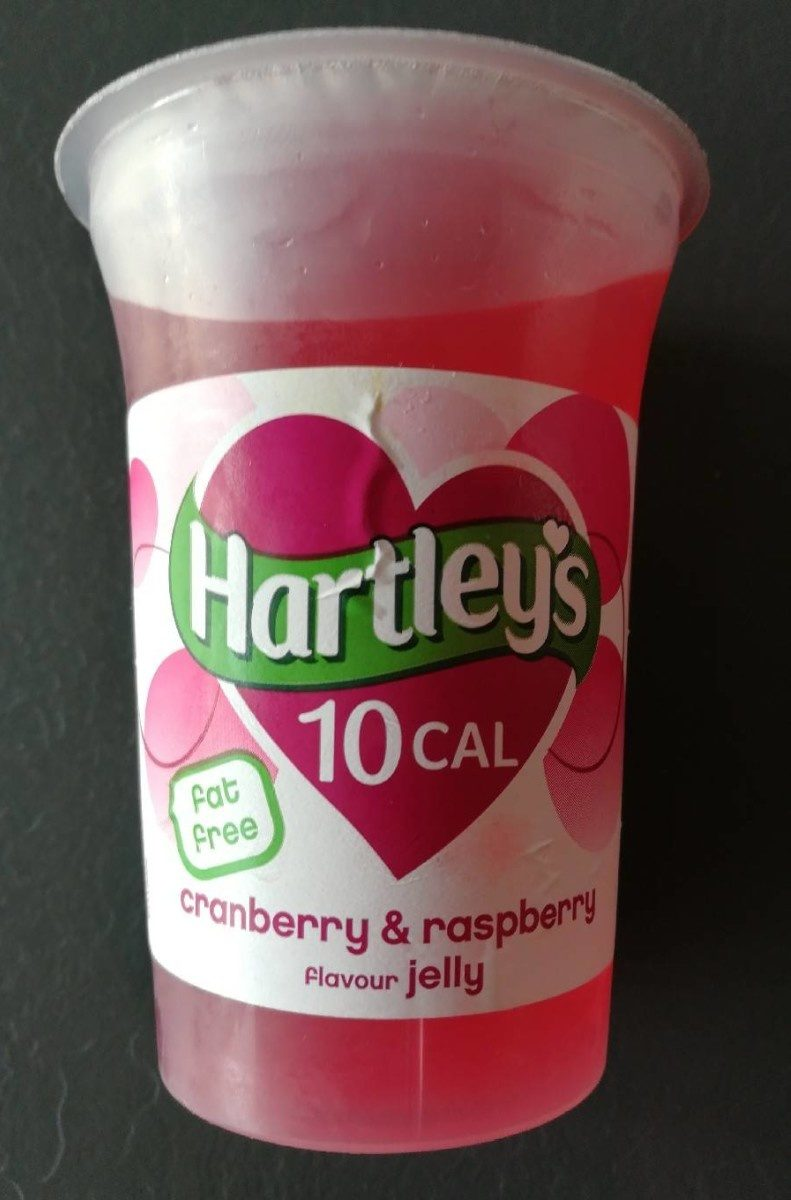Cranberry & raspberry flavour jelly - Product