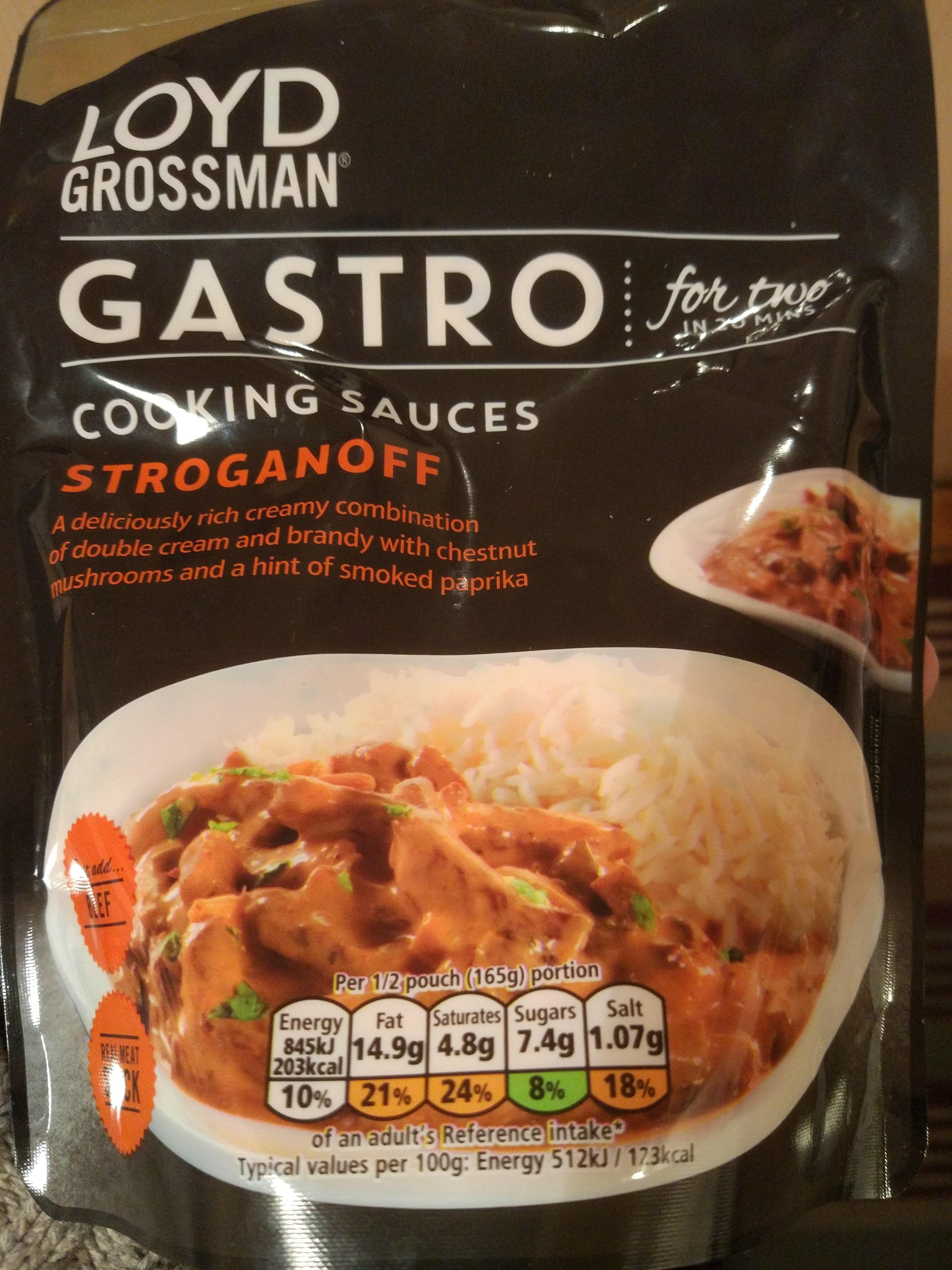 cooking sauce stroganoff - Product - en