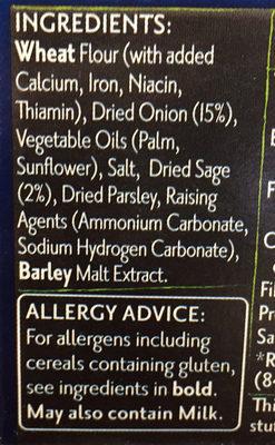 PAXO - Ingredients - en