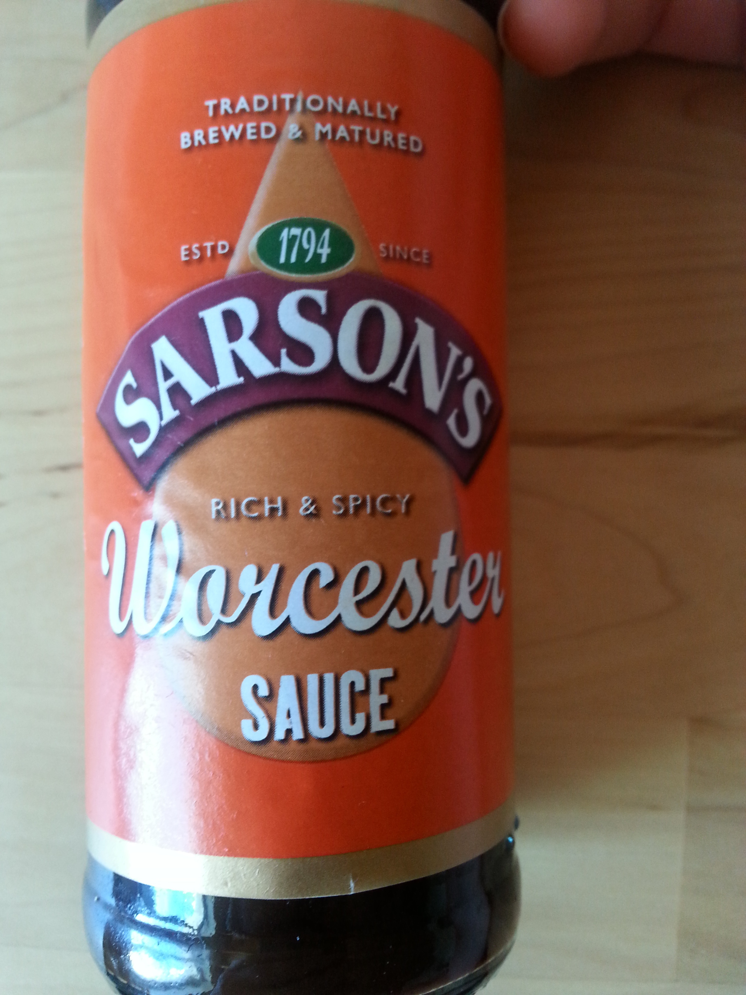 Sauce Worcester - Product