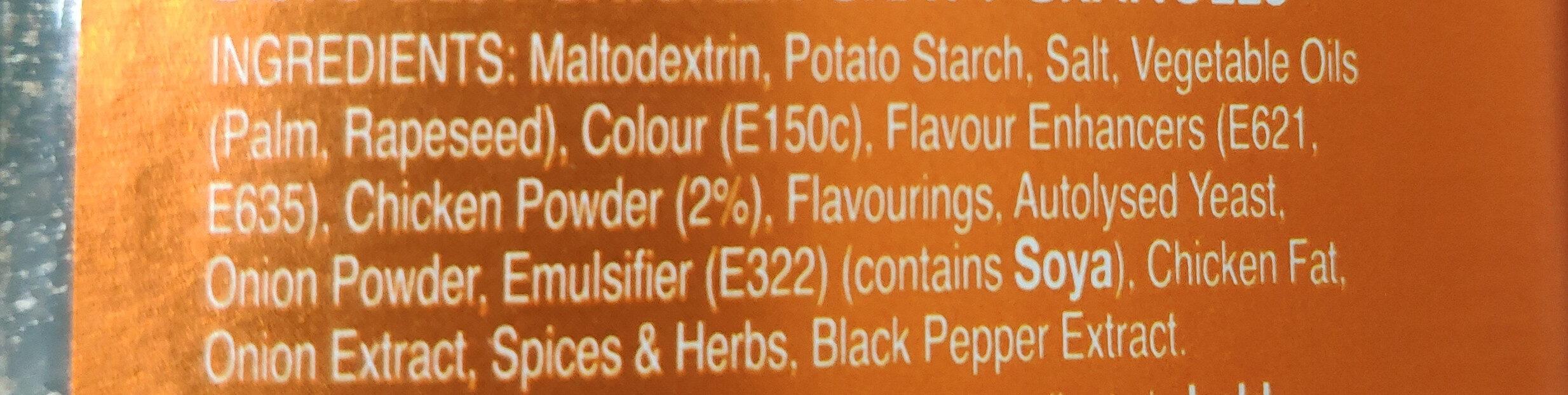 Bisto Best Chicken Gravy - Ingredients - en