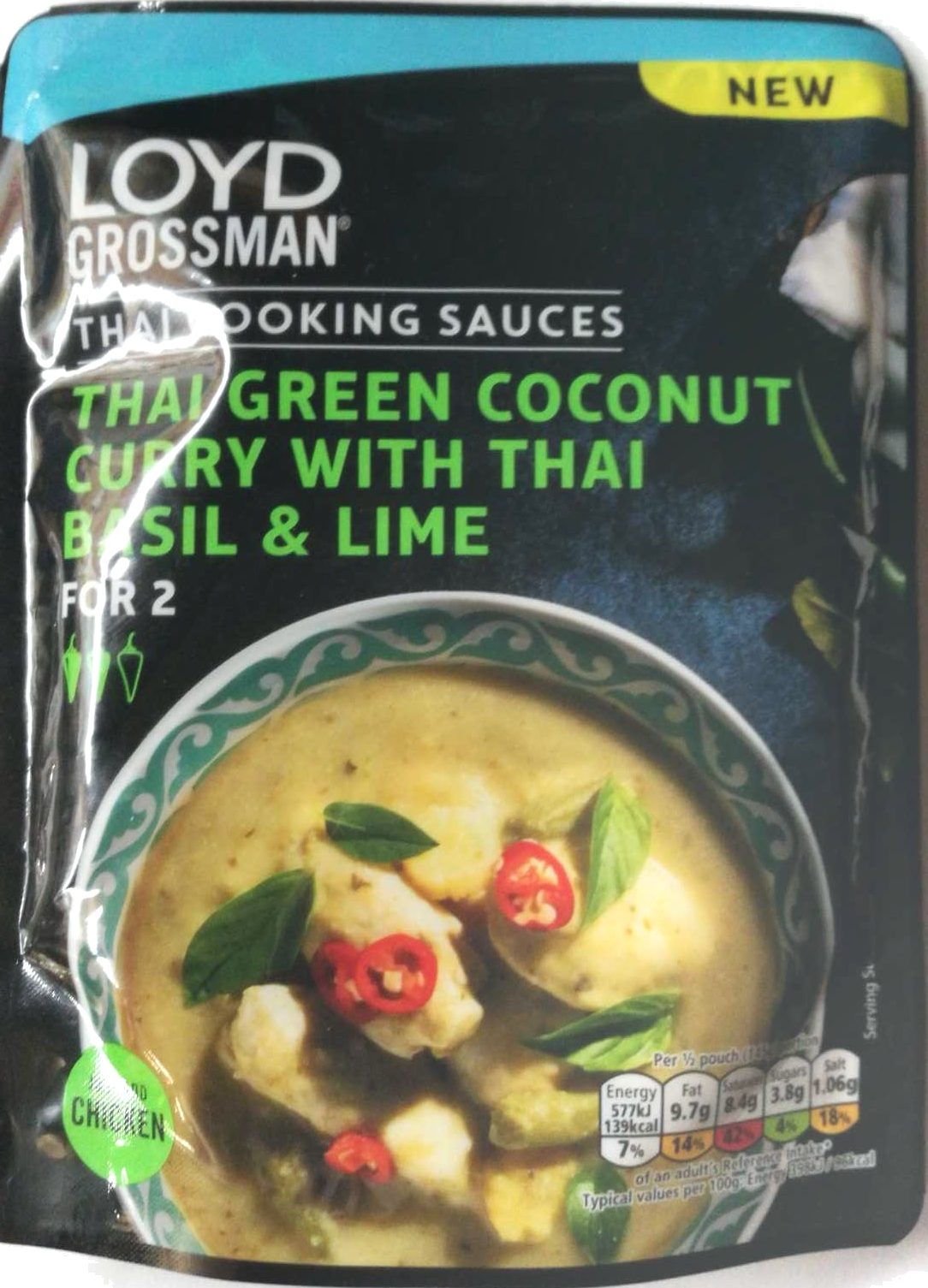 Thai Green Coconut Curry with Thai Basil and Lime - Product
