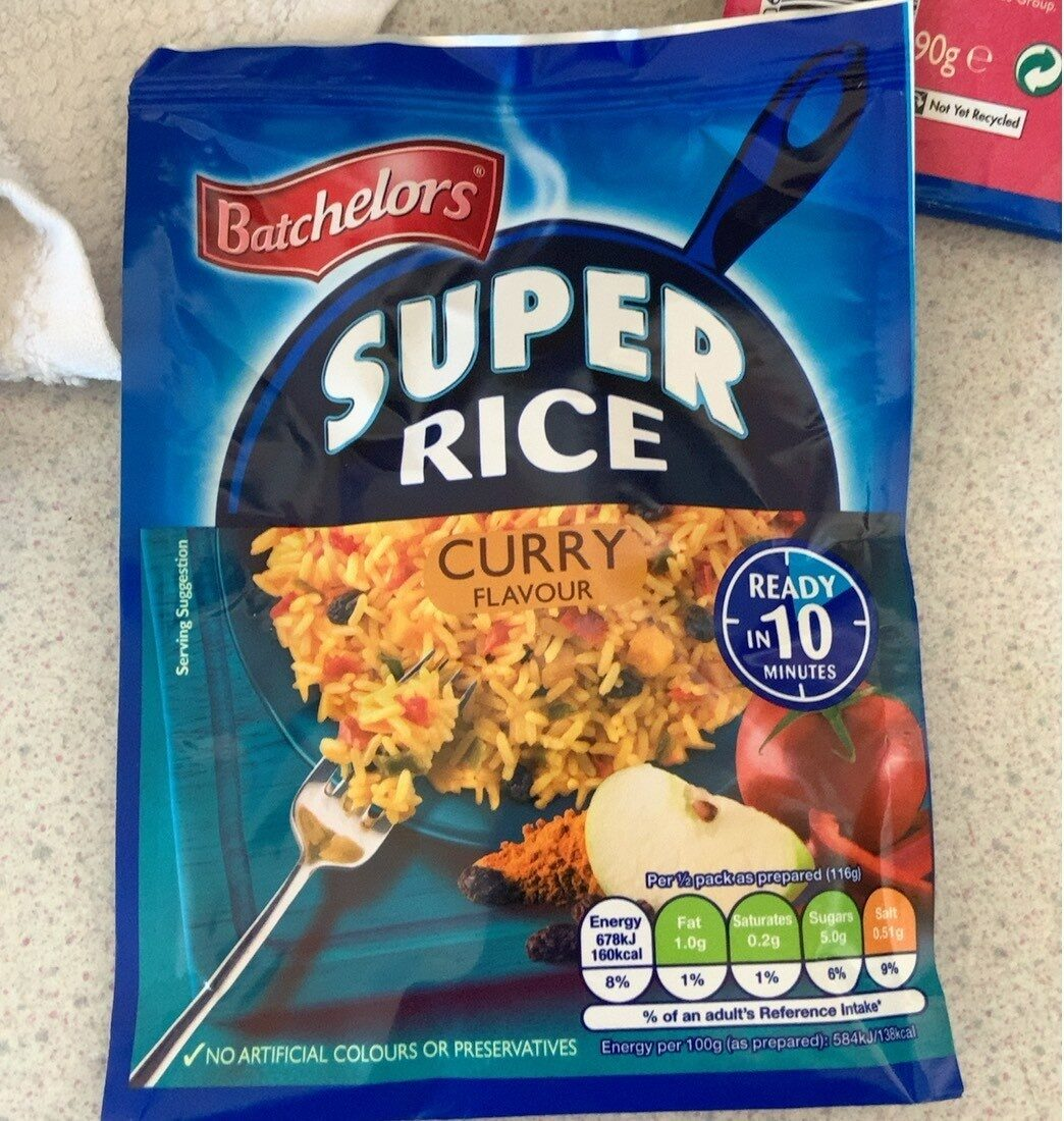 Super rice curry flavour - Prodotto - en