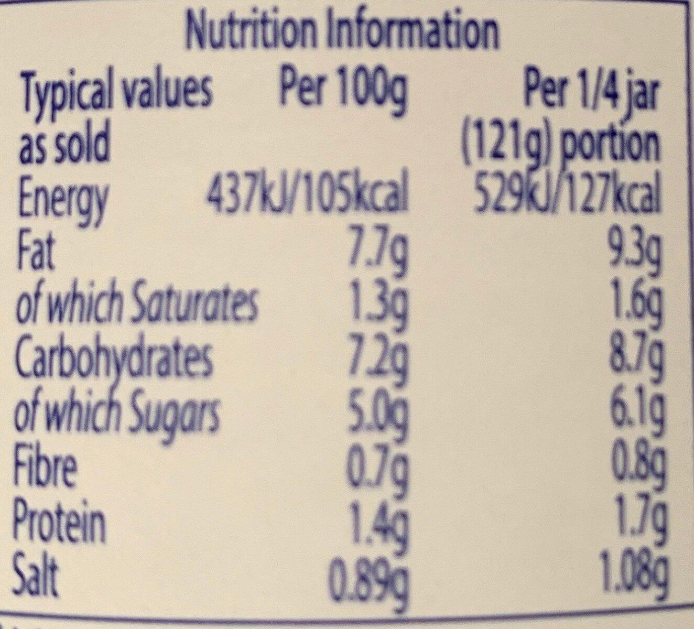 Pasta Bake Tomato & Bacon - Nutrition facts - en