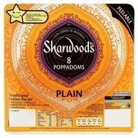 8 PLAIN POPPADOMS - Produit - fr