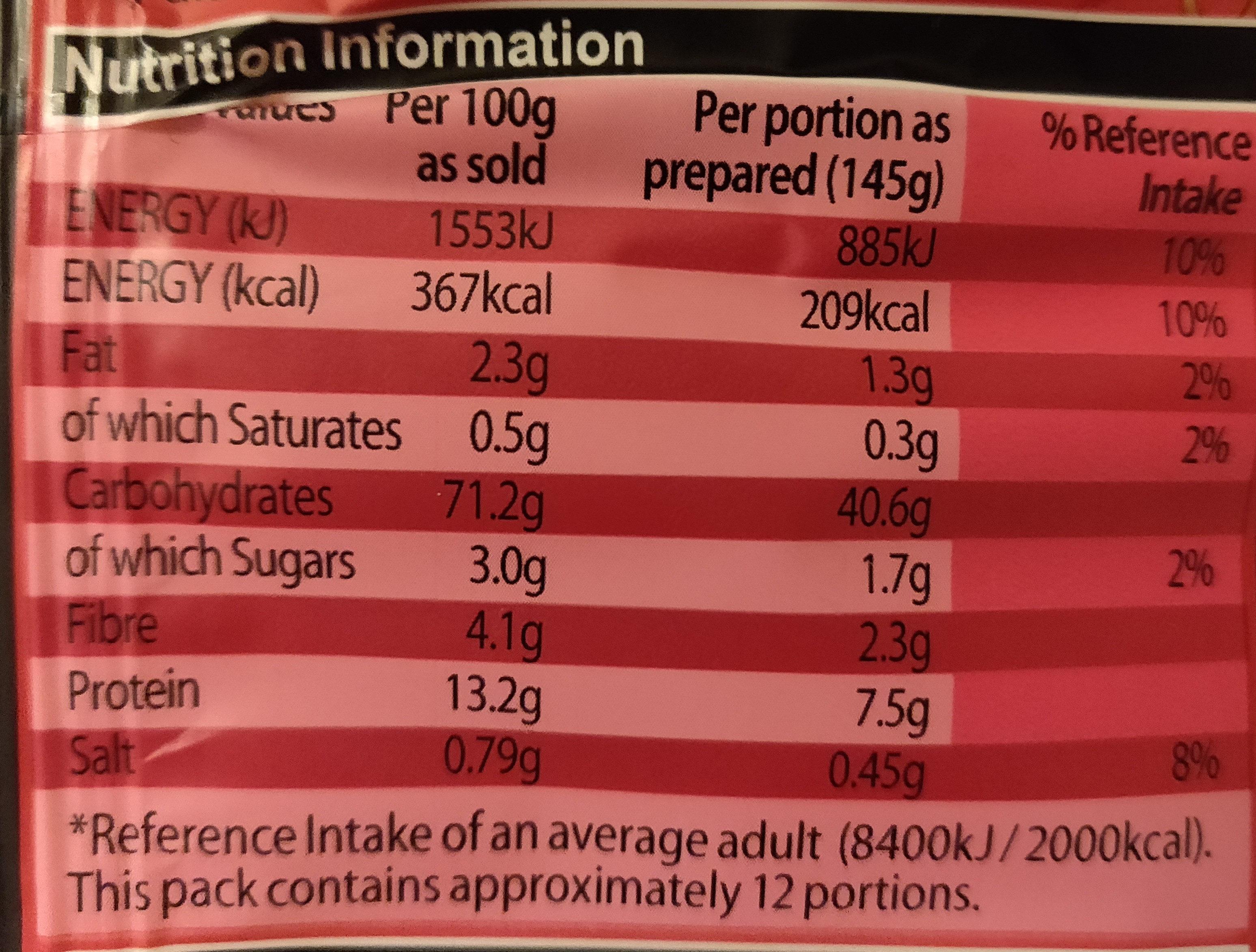 Medium Egg Noodles - Nutrition facts - en