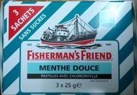 Fisherman's Friend - Spearmint - Pastilles avec chlorophylle - Produit