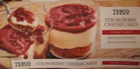 Strawberry cheesecakes - Product - en