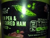 Garden Pea & Wiltshiee Cured Ham Hick - Product