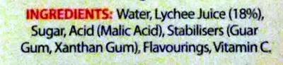 lychee - Ingredients