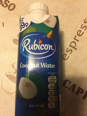 Rubicon Coconut Water Pm 99p 330ml - Product