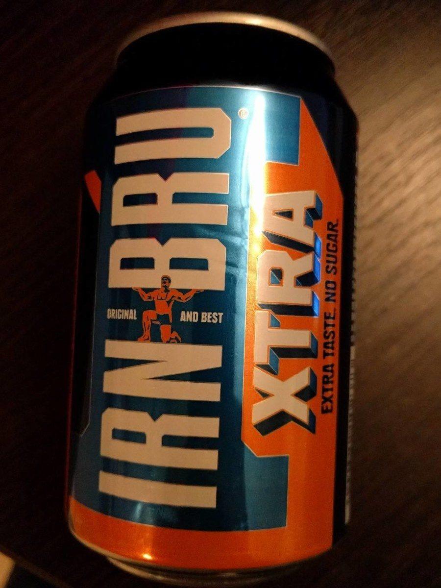 IRN-BRU XTRA - Produit