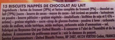 P'tit Déj Chocolat - Ingrédients - fr