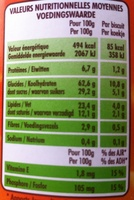 P'tit Déj Chocolat - Informations nutritionnelles - fr