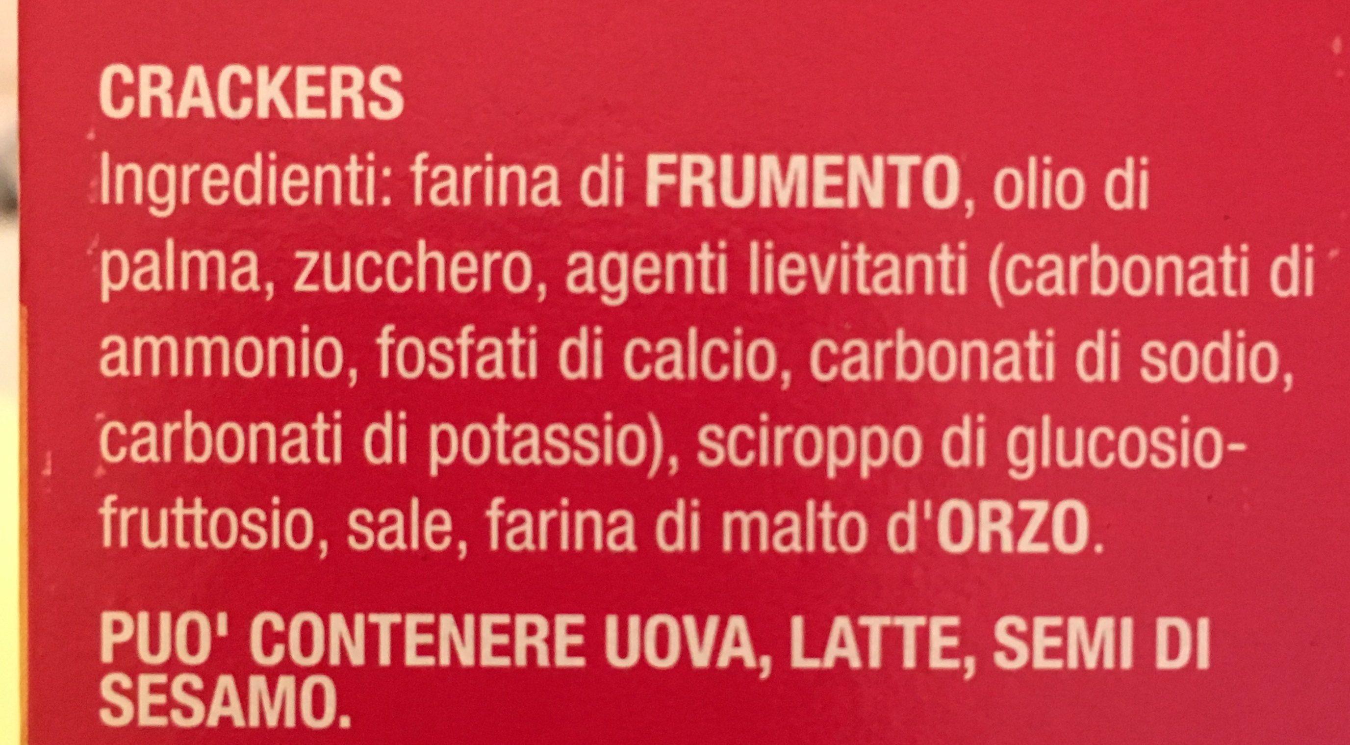 Ritz - Ingredients - fr