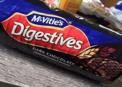 Digestive Mørk Chokolade - Produkt - en