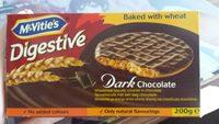 Digestive - Dark Chocolate - Produit - fr