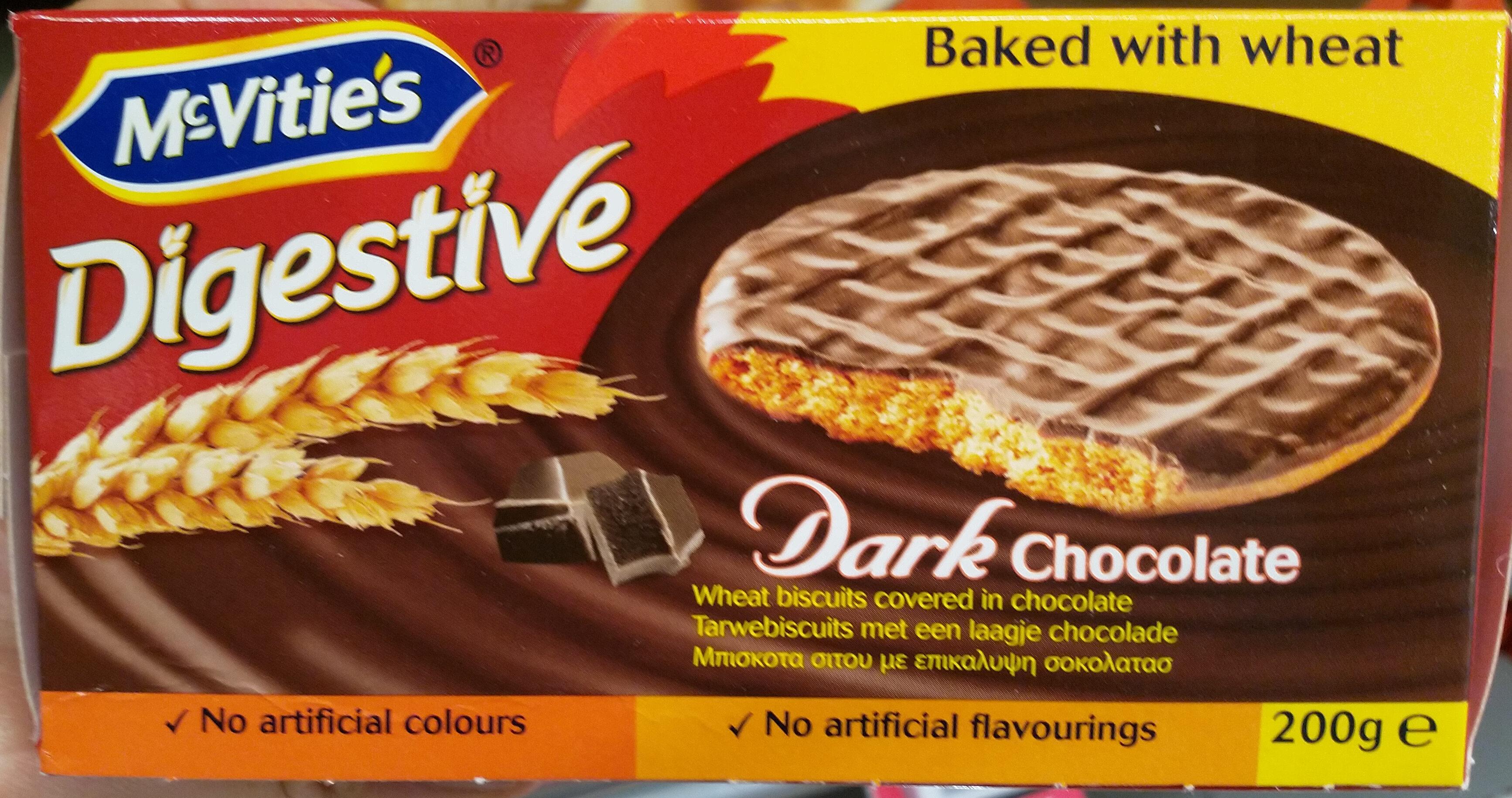 Digestive - Dark Chocolate - Product - fr