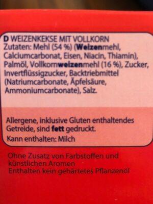 Mc Vitie's Digestive - Inhaltsstoffe - de